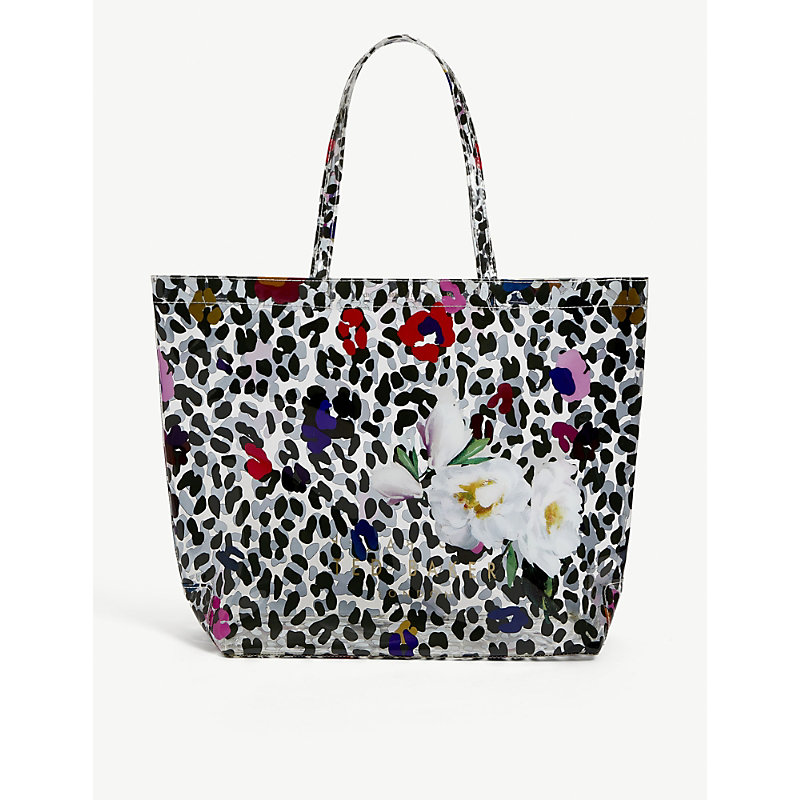 Ted Baker POLYCON FLORAL-PRINT PVC TOTE