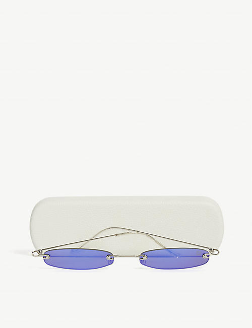 CHRISTIANAH JONES Oval-frame sunglasses