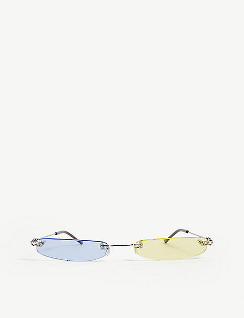 CHRISTIANAH JONES Shady Split rectangle sunglasses