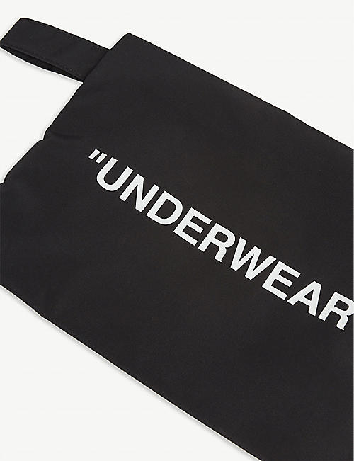 OFF-WHITE C/O VIRGIL ABLOH Underwear woven pouch