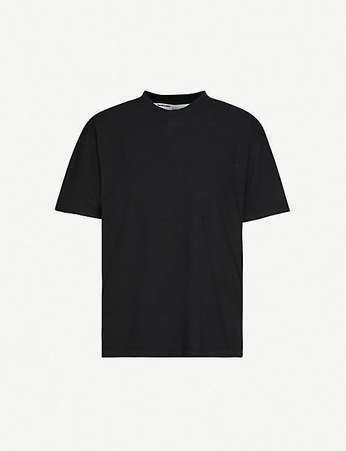 OFF-WHITE C/O VIRGIL ABLOH Arrow-print cotton-jersey T-shirt