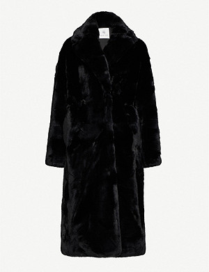 none Sasha faux-fur coat