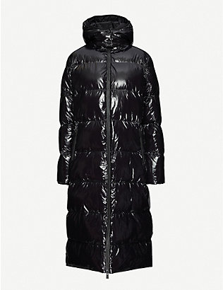 ANINE BING: Mary longline puffer shell coat