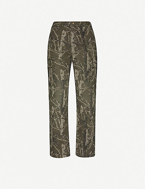 CARHARTT WIP Keyton tapered relaxed-fit canvas trousers