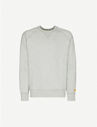 CARHARTT WIP: Chase logo-embroidered cotton-jersey sweatshirt