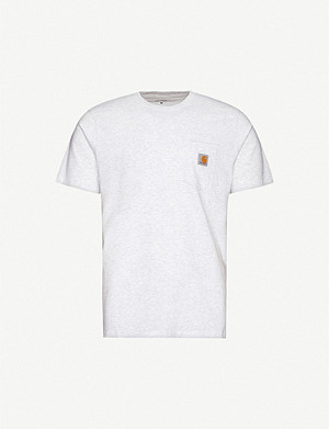 CARHARTT WIP Logo-patch cotton-jersey T-shirt
