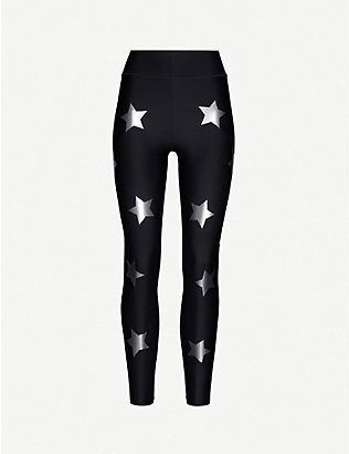 ULTRACOR: Star-print high-rise stretch-jersey leggings