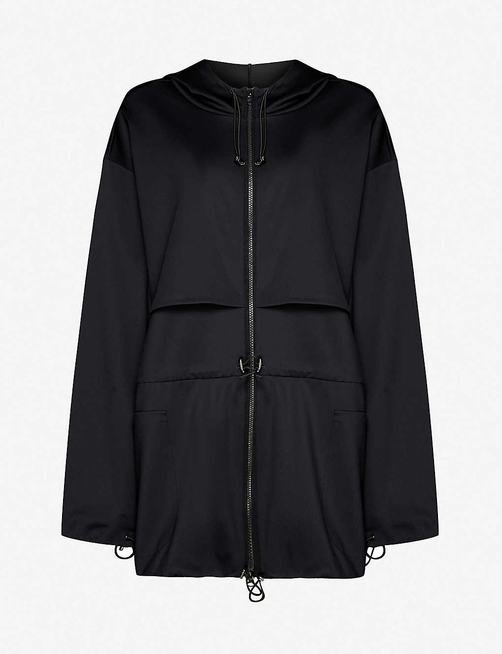 ULTRACOR: Hooded stretch-jersey jacket