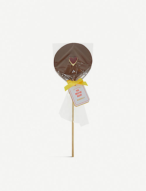 SELFRIDGES SELECTION: You Melt My Heart Chocolate Lollipop 115g