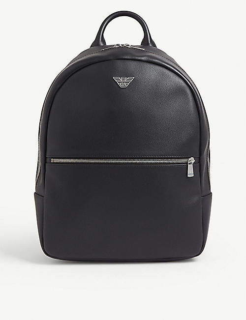 EMPORIO ARMANI Eagle logo backpack