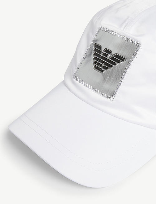 EMPORIO ARMANI Top stitch cap
