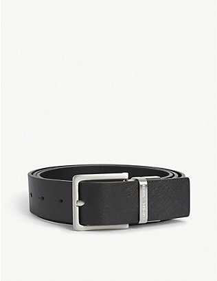 EMPORIO ARMANI: Reversible leather belt gift box