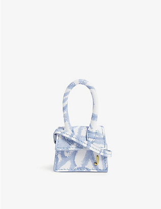 JACQUEMUS: Le petit Chiquito mini leather top handle bag