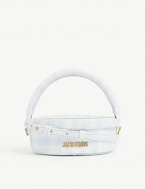 JACQUEMUS La Boite leather top handle bag