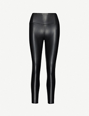 3X1 Coco high-rise faux-leather leggings