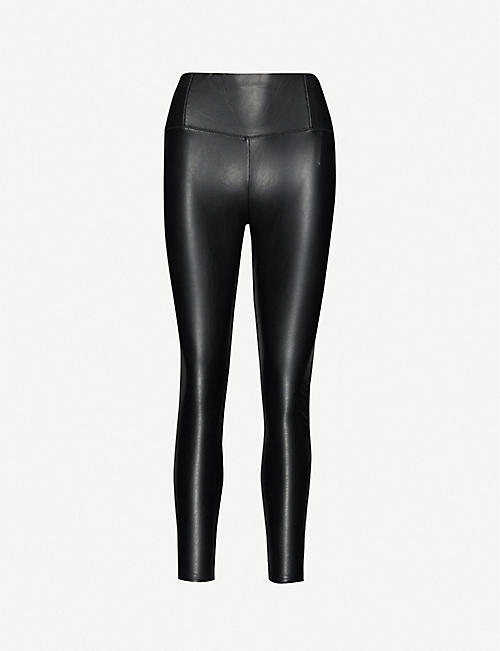 3X1: Coco high-rise faux-leather leggings