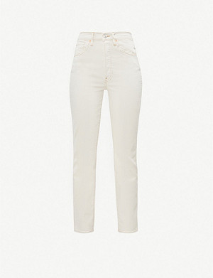 3X1 Claudia straight high-rise jeans