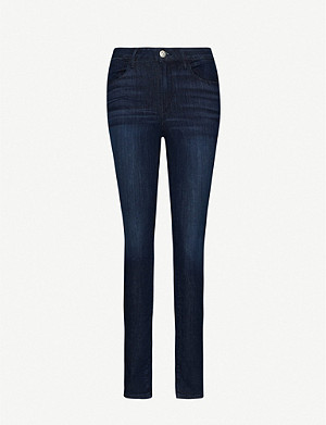 3X1 Channel Seam high-rise skinny jeans