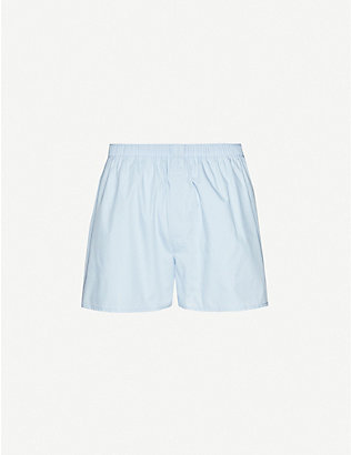 SUNSPEL: Classic cotton boxer shorts