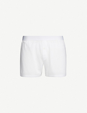 SUNSPEL Cellular classic-fit cotton boxers