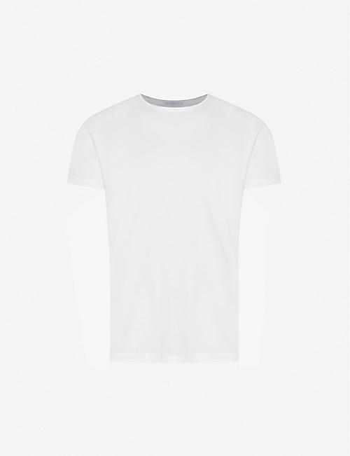 SUNSPEL: Q14 cellular cotton t-shirt