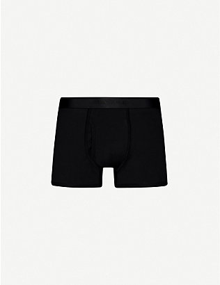 SUNSPEL: Superfine regular-fit cotton trunks