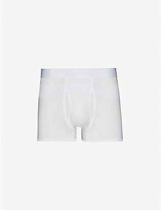 SUNSPEL: Q82 regular-fit cotton trunks