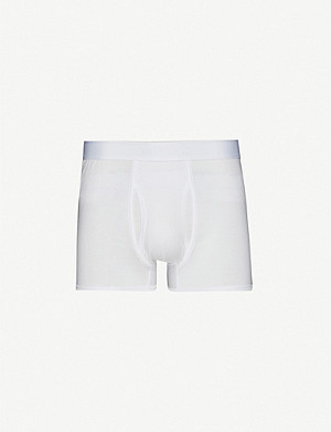 SUNSPEL Q82 regular-fit cotton trunks