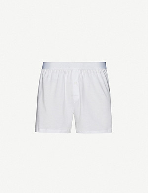 SUNSPEL Q82 loose-fit superfine cotton boxers