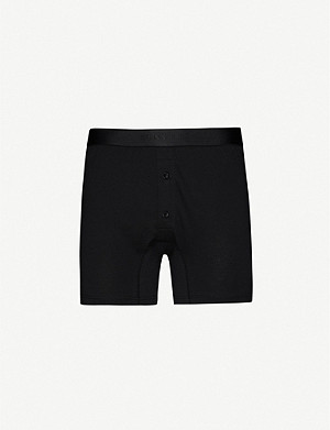 SUNSPEL Superfine cotton-jersey boxers