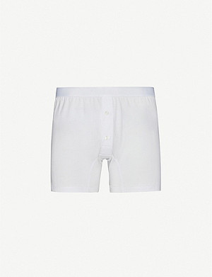 SUNSPEL Superfine two–button boxer shorts