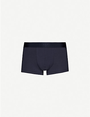 SUNSPEL: Stretch-cotton trunks