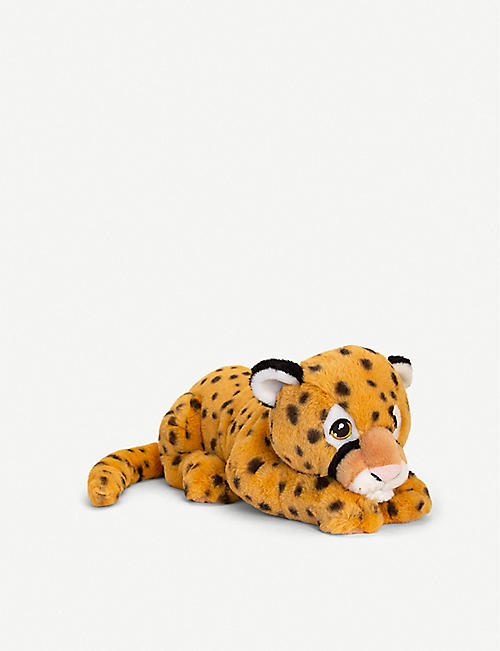 KEEL: Keel Eco Cheetah recycled-polyester soft toy 45cm