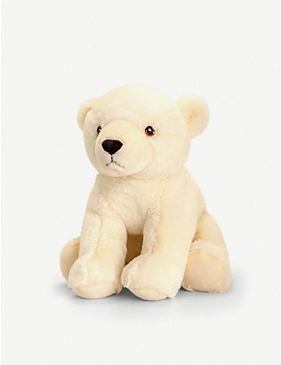 KEEL: Keel Eco Polar Bear soft toy 25cm