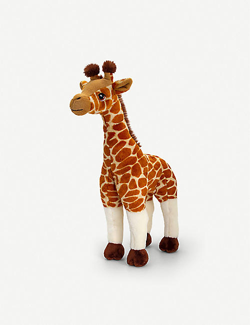 KEEL: CuddlEco Giraffe soft toy 40cm