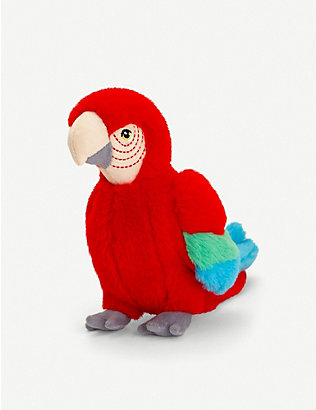 KEEL: Keel Eco parrot soft toy 20cm