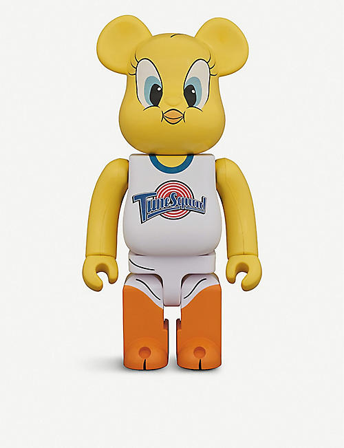 BE@RBRICK:Tweety Space Jam 400% 公仔