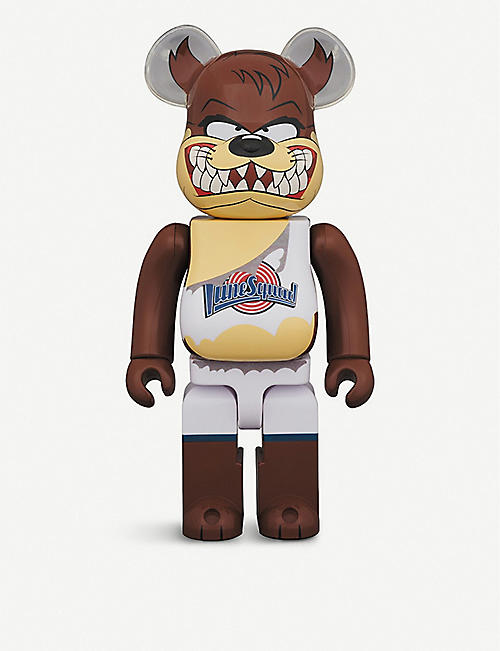 BE@RBRICK:Tasmanian Devil Space Jam 400% 公仔