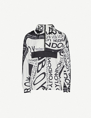 BOY LONDON Overturn logo-print shell jacket