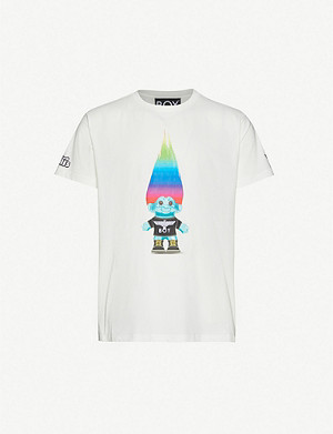 BOY LONDON BOY x Troll cotton-jersey T-shirt