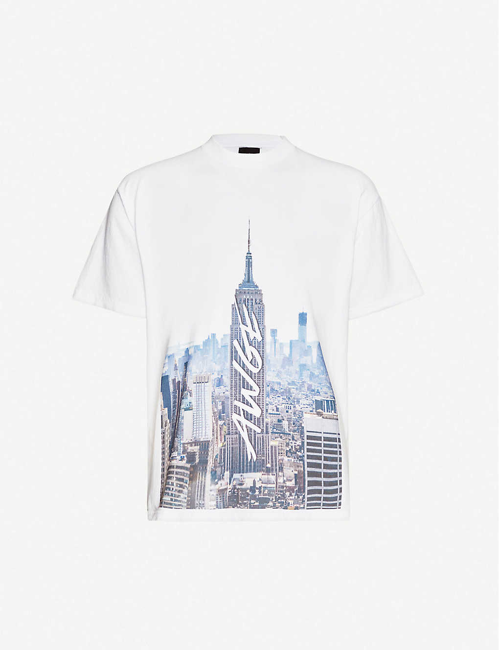 AWGE: Graphic-print cotton-jersey T-shirt