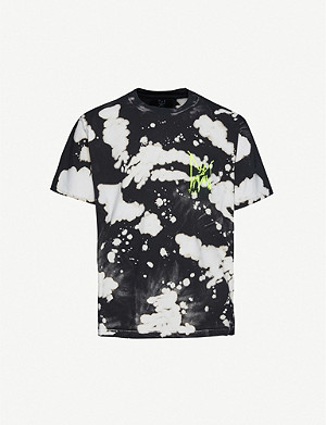 MJB - MARC JACQUES BURTON Festival tie-dyed cotton-jersey T-shirt