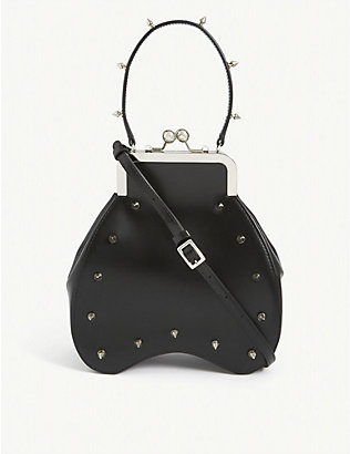 SIMONE ROCHA: Bean leather cross-body bag