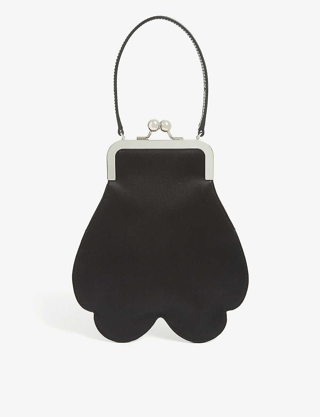 SIMONE ROCHA: Mini satin cross-body floral bag