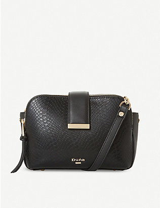 DUNE: Duilts faux-leather crossbody bag