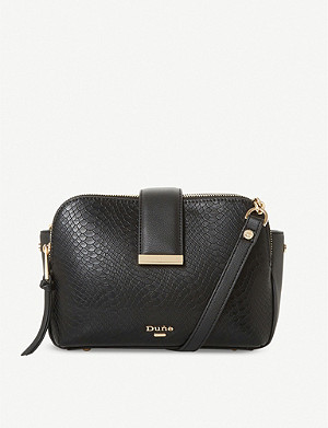 DUNE Duilts faux-leather crossbody bag
