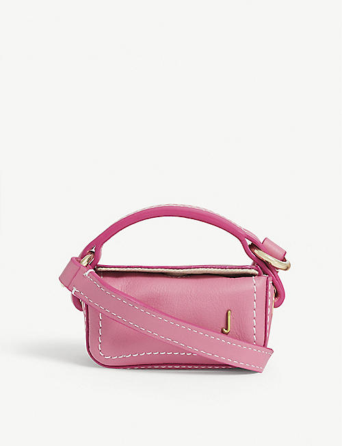 JACQUEMUS Le Nani leather mini bag