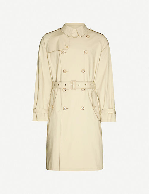 POLO RALPH LAUREN Slim-fit stretch-cotton trench coat