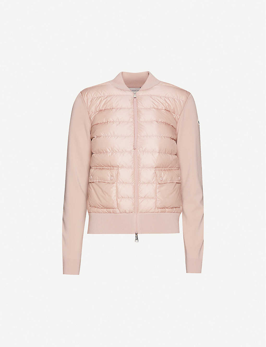 MONCLER: Padded shell jacket