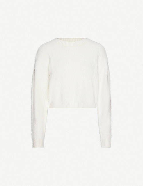 PACSUN Pacsun x Kendall & Kylie ribbed stretch-jersey jumper